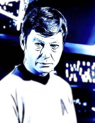 Doctor Leonard Mccoy Star Trek Poster by John Springfield