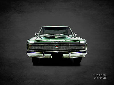 Dodge Charger 426 Hemi Poster by Mark Rogan