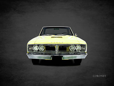 Dodge Coronet 500 Poster by Mark Rogan