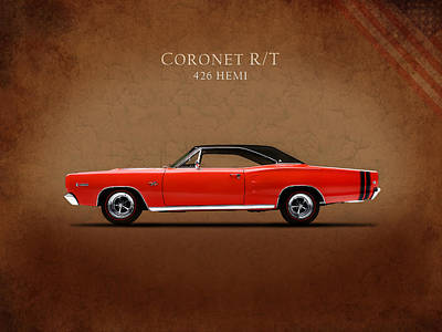 Dodge Coronet R T Poster by Mark Rogan