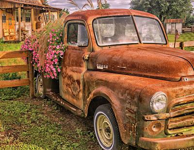 Dodge Flower Pot Poster