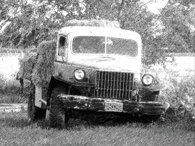 Dodge Hay Hauler Dd Poster