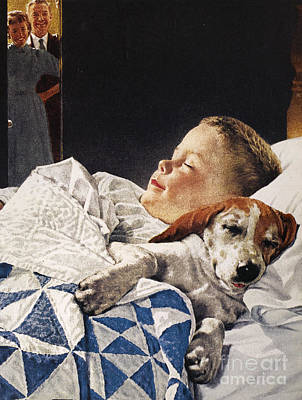 Dog Food Ad, 1956 Poster by Granger