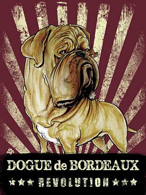 Dogue De Bordeaux Revolution Poster