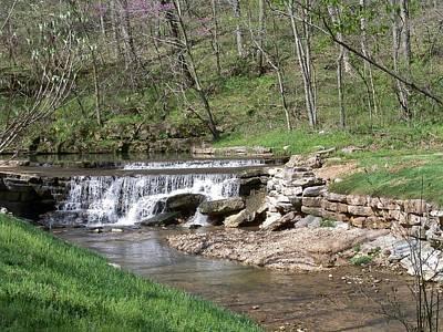 Dogwood Canyon Waterfall 2 Poster