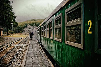 Dolene Railway Station Bulgaria Poster