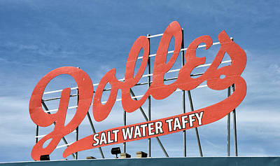 Dolles Salt Water Taffy - Rehoboth Beach  Delaware Poster by Brendan Reals