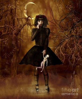 Dolly Broke Poster by Shanina Conway