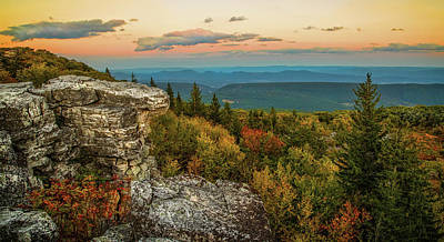 Dolly Sods Autumn Sundown Poster