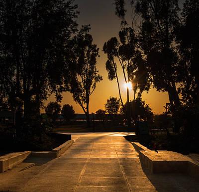 Dominguez Hills Sunset Poster