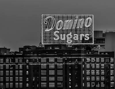 Domino Sugars Sign Poster by Wayne King