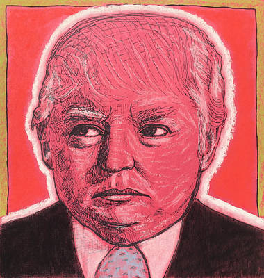 Donald Trump Poster by Justin Welch