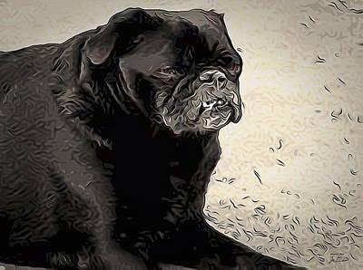 Donnas Bulldog Poster