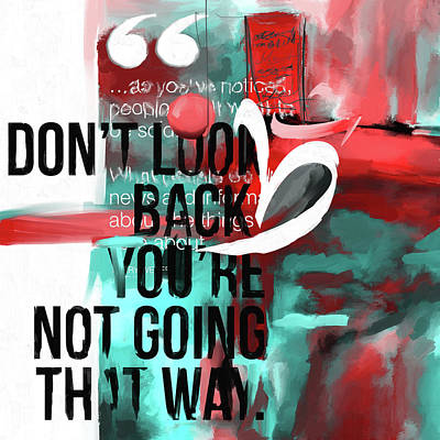 Don't Look Back 423.2 Poster