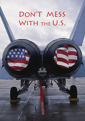 Don't Mess With The U. S. Poster