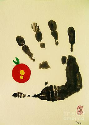 Poster featuring the painting Don't Touch Me by Roberto Prusso