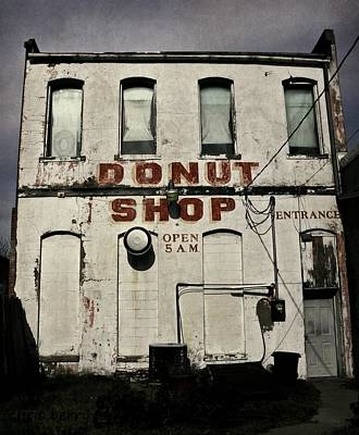 Donut Shop Poster by Chris Berry