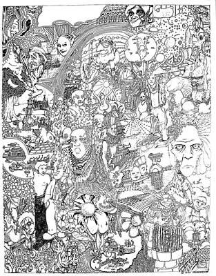 Doodle Art 1987 Poster