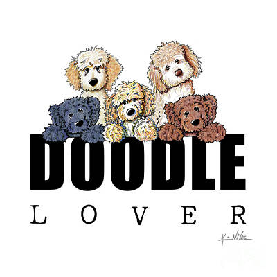 Doodle Lover Poster