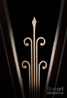 Door Etched Glass Poster by Fred Lassmann
