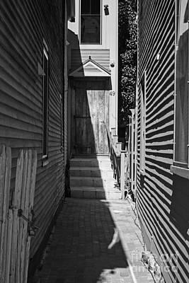 Door In An Alley Poster