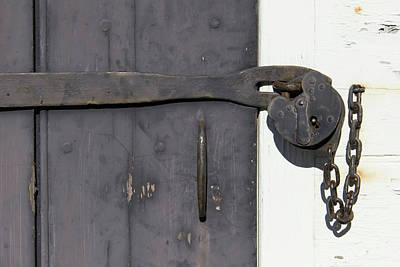 Door Lock Poster by Teresa Mucha
