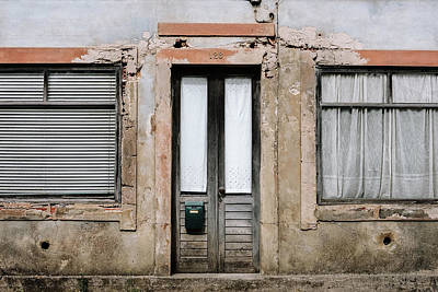 Poster featuring the photograph Door No 128 by Marco Oliveira
