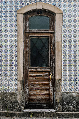 Poster featuring the photograph Door No 151 by Marco Oliveira