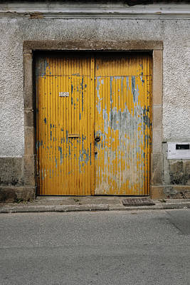 Poster featuring the photograph Door No 152 by Marco Oliveira