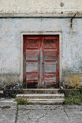 Poster featuring the photograph Door No 175 by Marco Oliveira