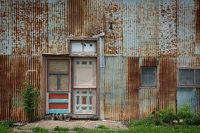 Door, Toronto, Kansas Poster