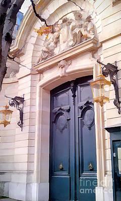 Doors Of Paris I Poster by Jennifer Smith