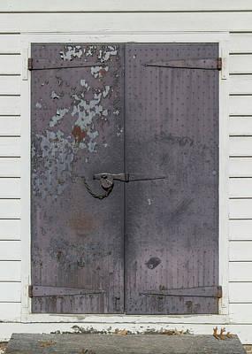 Doors Of Williamsburg 102 Poster by Teresa Mucha