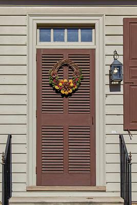 Doors Of Williamsburg 80 Poster