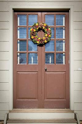 Doors Of Williamsburg 81 Poster