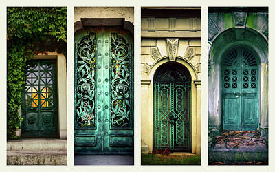 Doors Of Woodlawn Poster by Jessica Jenney