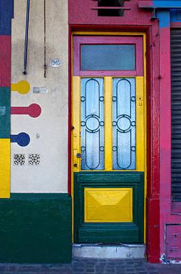 Doors Of San Telmo, Argentina Poster