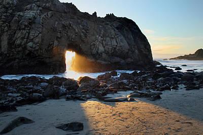 Doorway To Heaven In Big Sur Poster