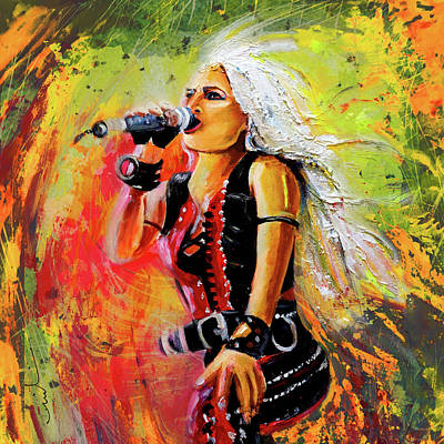 Doro Madness Poster by Miki De Goodaboom