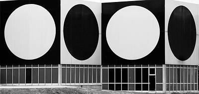 Dot Building Poster by Matthew Bamberg