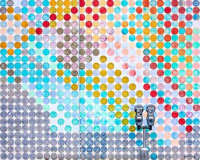Dots, Many Colored Dots Poster by Todd Klassy