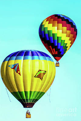 Double Balloon Poster by Victory Designs