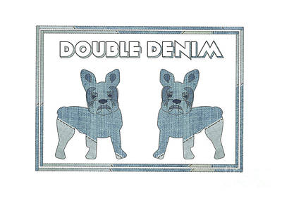 Double Denim  Poster