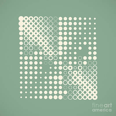 Double Dotted Poster by Igor Kislev