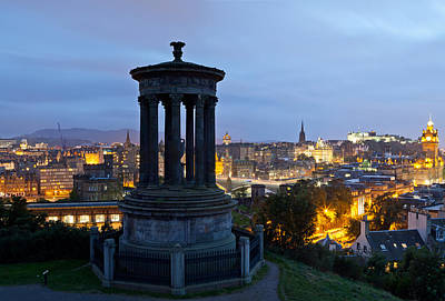 Dougald Stewart Monument On Calton Hill Poster by Panoramic Images