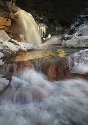 Douglas Falls Flow Poster