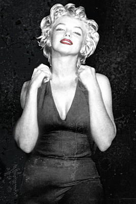 Down And Dirty Marilyn Poster