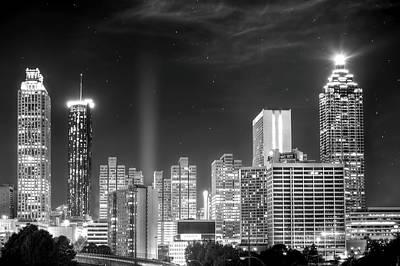Downtown Atlanta Skyline Poster