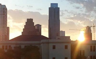 Downtown Austin Poster