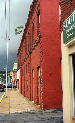 Elizabethton Tennessee - Downtown Street 2008 Poster by Frank Romeo